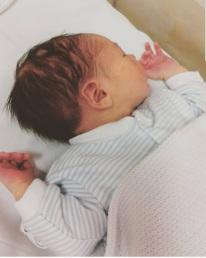 William baby sleeping