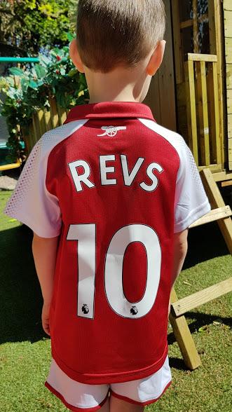 Williams Arsenal Kit back